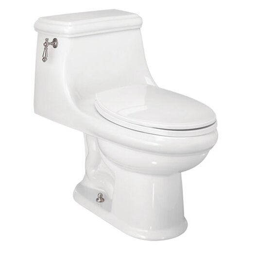 St Thomas Creations Celebration Chair-Height 1.28 GPF Elongated 1 Piece Toilet