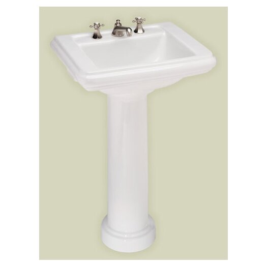 St Thomas Creations Celebration Petite Pedestal Sink