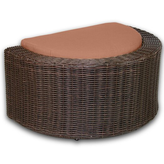 Patio Heaven Palomar Ottoman with Cushion
