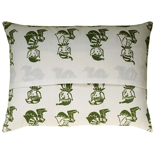 Artgoodies Elf All Over Pattern Block Print Accent Pillow