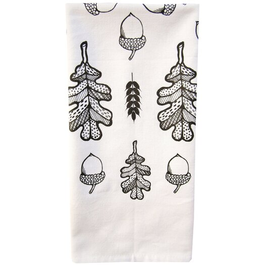Artgoodies Organic Awesome Oak Tea Towel