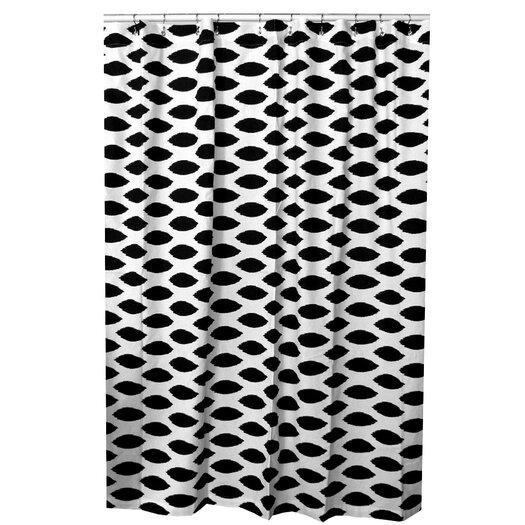 Elisabeth Michael Ikat Cotton Shower Curtain