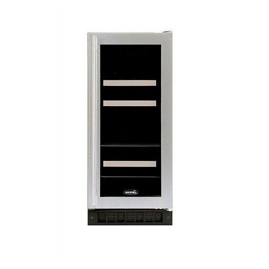 Marvel Appliances Luxury 4 Bottle Dual Zone Built-In Wine Refrigerator