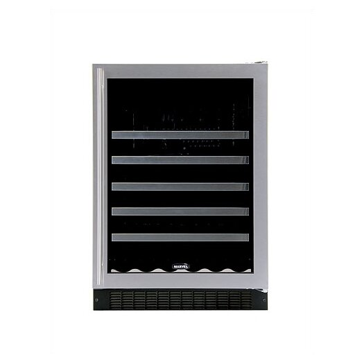 Marvel Appliances Luxury 45 Bottle Single Zone Build-In Wine Refrigerator