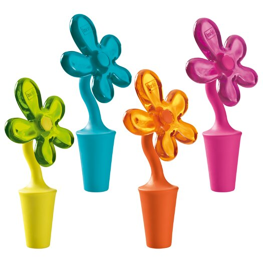 Koziol A-Pril Bottle Stopper (Assorted Colors)
