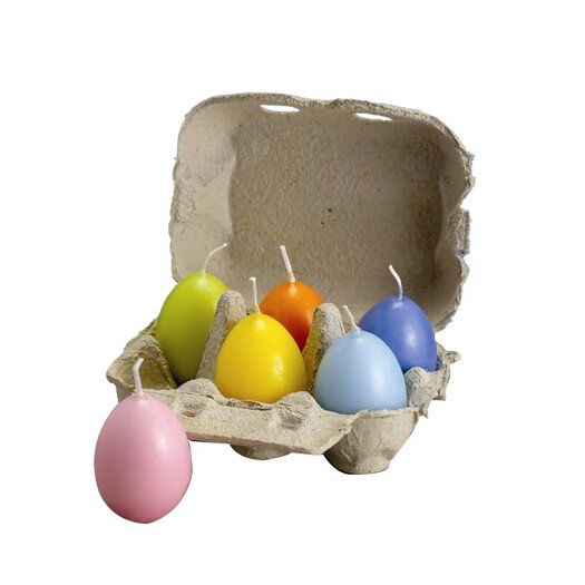 Biedermann and Sons Pastel Egg Candle