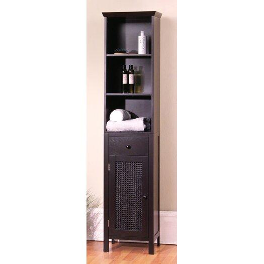"Elegant Home Fashions Savannah 15"" x 65"" Linen Tower"