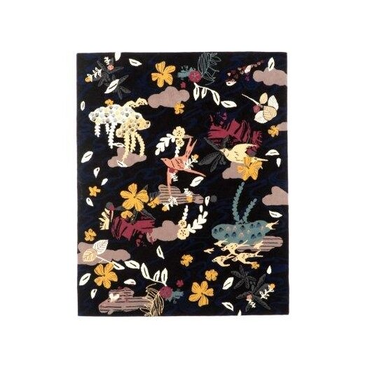 Twinkle Living Formosa Black Area Rug