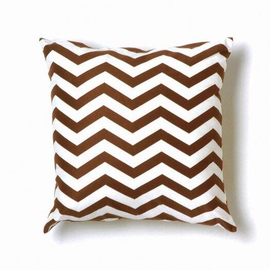 ZigZag Pillow in Brown