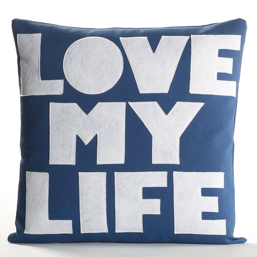 Love Life Throw Pillow : Alexandra Ferguson Love My Life Decorative Throw Pillow AllModern