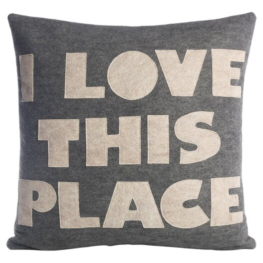Alexandra Ferguson I Love This Place Decorative Pillow