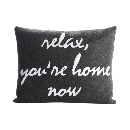 Alexandra Ferguson Relax, You're Home Now Decorative Throw Pillow