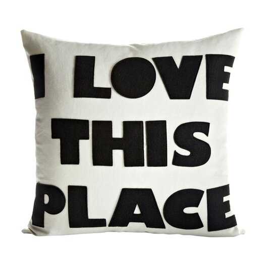 Alexandra Ferguson I Love This Place Throw Pillow