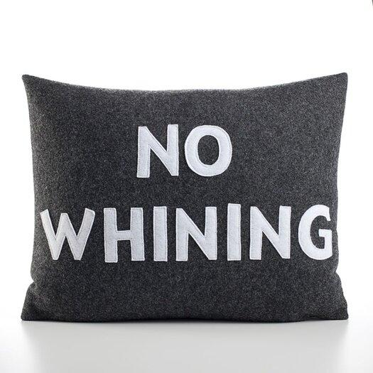 "Alexandra Ferguson ""No Whining"" Decorative Pillow"