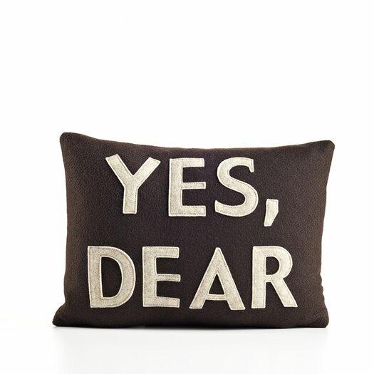 Yes, Dear Decorative Pillow