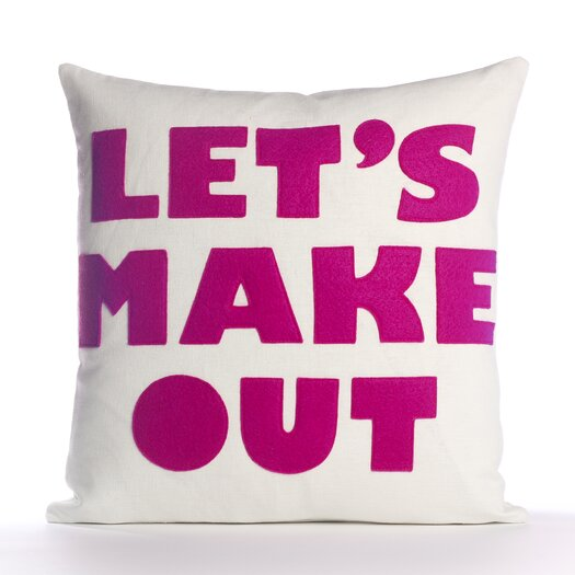 "Alexandra Ferguson ""Let's Make Out"" Decorative Pillow"