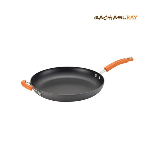 "Rachael Ray Hard-Anodized II 14"" Non-Stick Skillet"