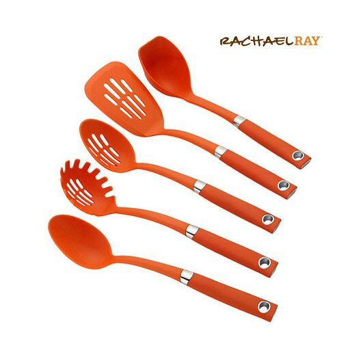 Rachael Ray Tools and Gadgets 5 Piece Utensil Set