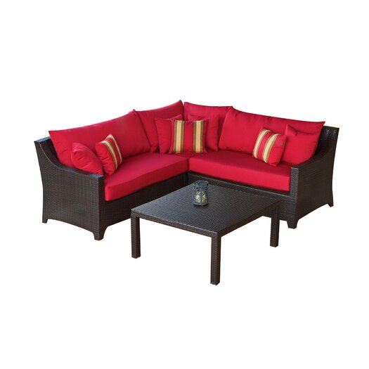 RST Outdoor Cantina 2 Piece Sectional Sofa Set