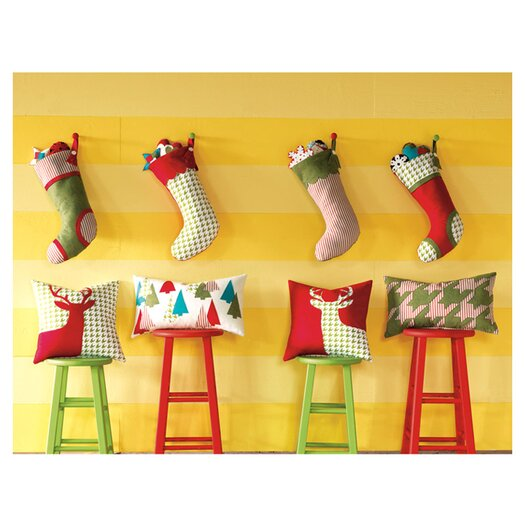 Eastern Accents North Pole Swans Swimming Stocking