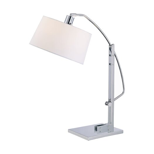 Lite Source Karm Table Lamp with Drum Shade