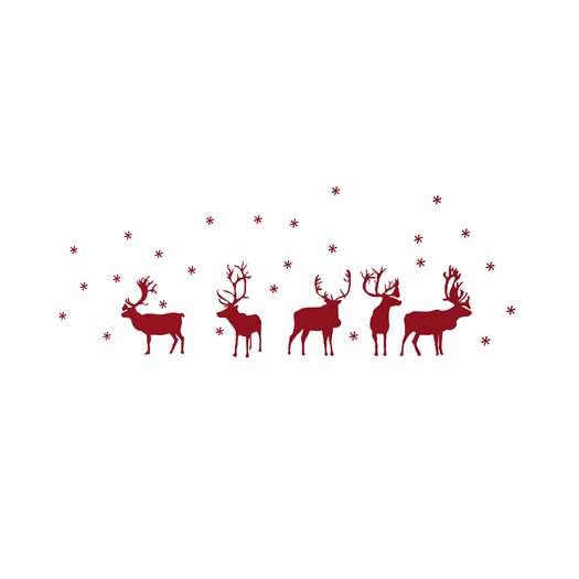 ADZif Christmas 2013 Reindeers Decals
