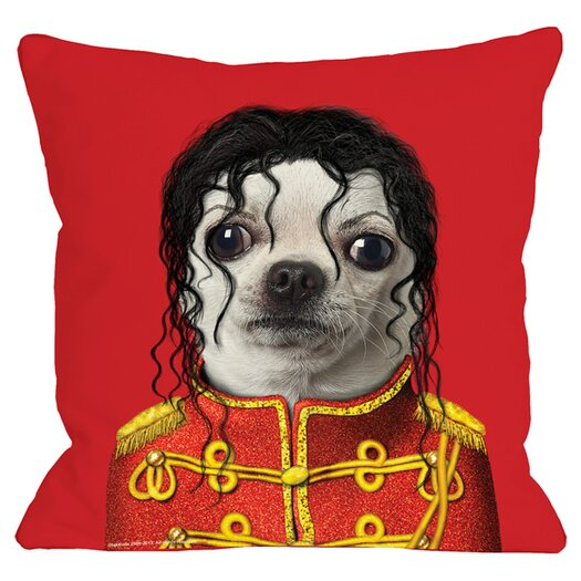 One Bella Casa Pets Rock Pop Pillow
