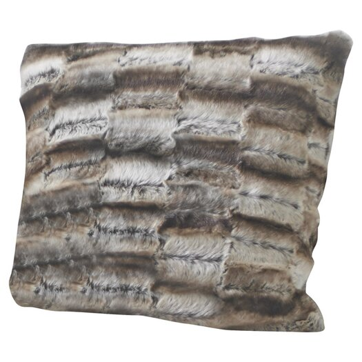 Portico Faux Fur Decorative Pillow