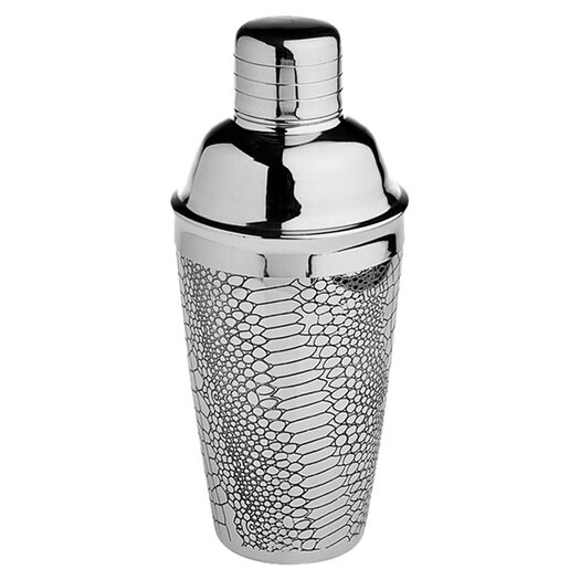 Godinger Silver Art Co Croco Design Cocktail Shaker