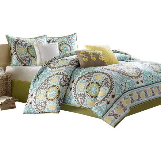 Madison Park Samara 7 Piece Comforter Set