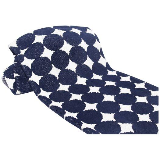 In2Green Eco Big Dots Cotton Yarn Throw Blanket