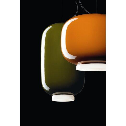 Foscarini Chouchin 2 Suspension Lamp in Green