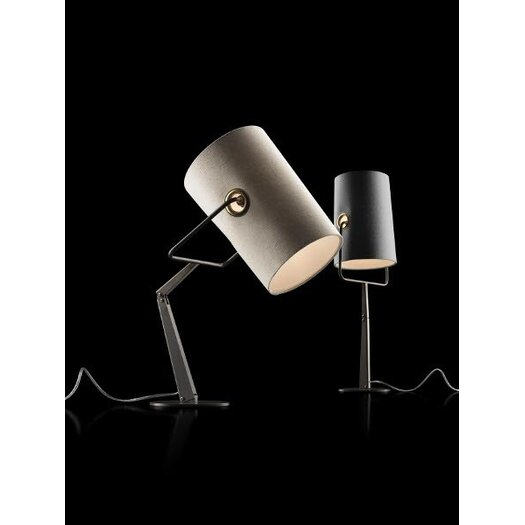 "Foscarini Diesel Fork 24.63"" H Table Lamp with Drum Shade"