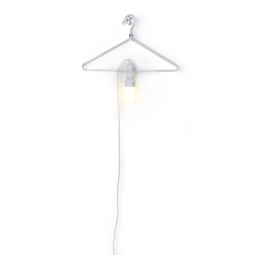 Droog Clothes Hanger Lamp for Droog