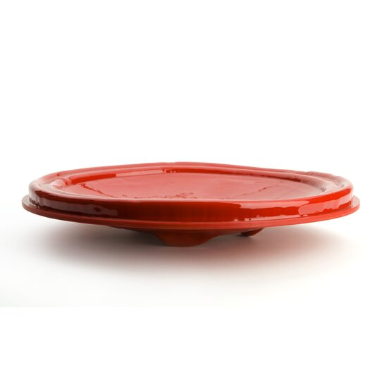 Droog Revisited Plate in Red by Bas Warmoeskerken for Droog