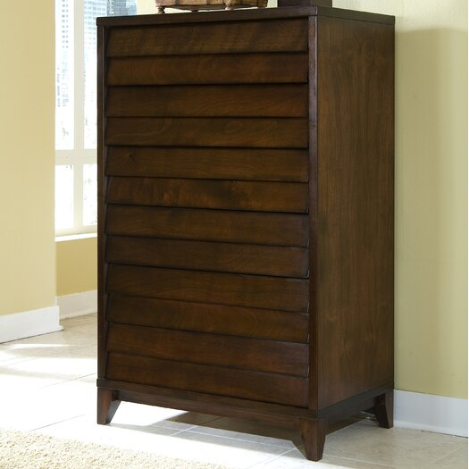 Home Image Island 6 Drawer High Chest