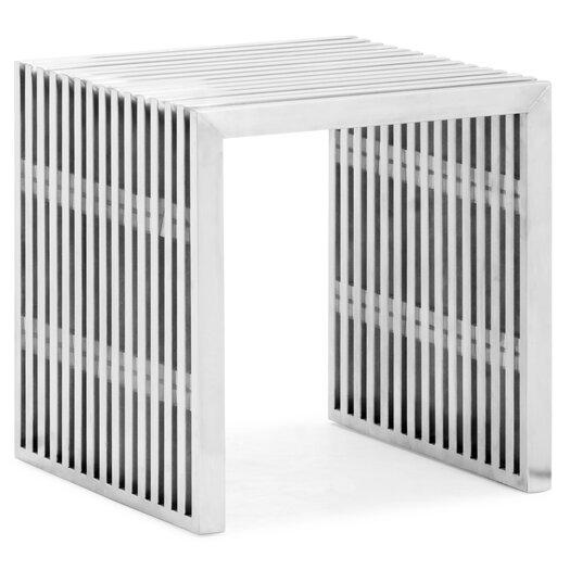 dCOR design Novel Stainless Steel Entryway Bench