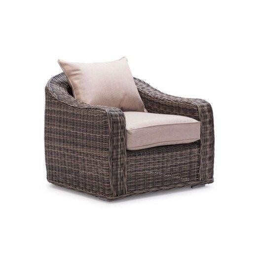 dCOR design Praia Deep Seating Chair with Cushions