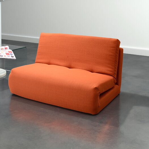 dCOR design Polygon Sleeper Loveseat