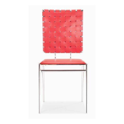 dCOR design Criss Cross Side Chair