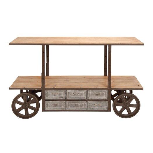 Woodland Imports Reclaim Kitchen Cart