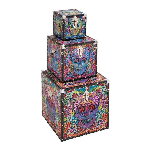 Woodland Imports Canvas Box
