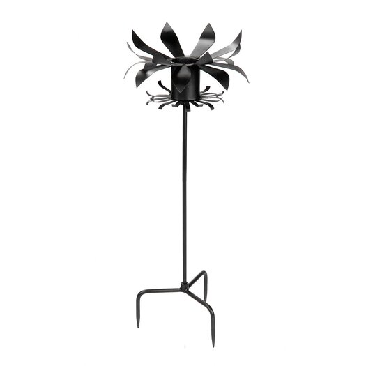 ACHLA Petals Gazing Globe Pedestal Stand