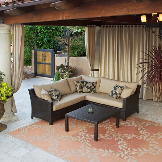 RST Outdoor Delano 2 Piece Sectional Sofa Set