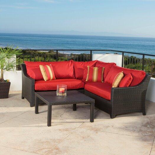 RST Brands Cantina Deco 2 Piece Sectional Sofa Set