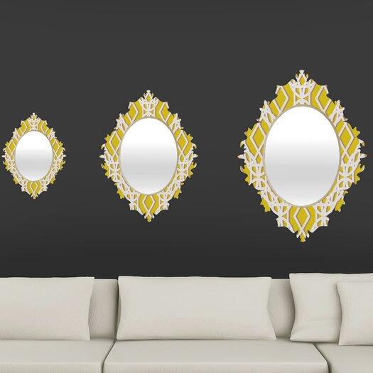 DENY Designs Aimee St Hill Diamonds Baroque Mirror