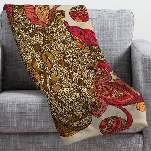 DENY Designs Valentina Ramos The Giraffe Polyester Fleece Throw Blanket