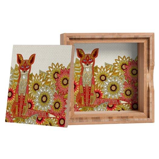 DENY Designs Sharon Turner Garden Fox Storage Box