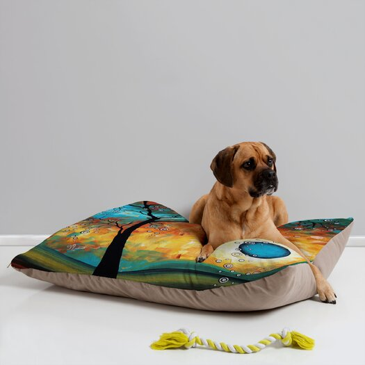 DENY Designs Madart Inc. Aqua Burn Pet Bed