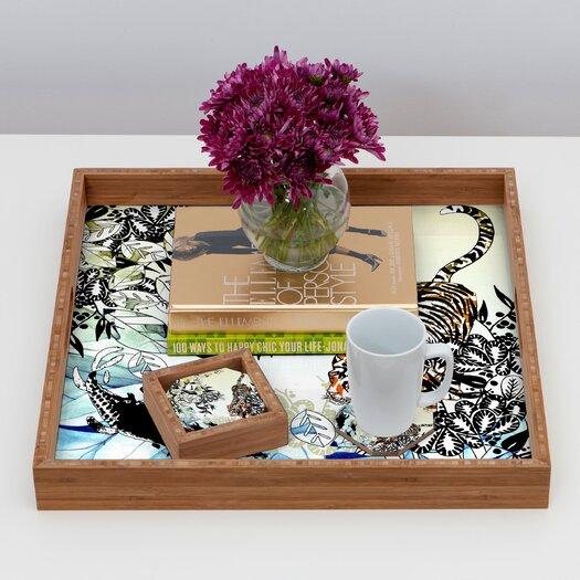 DENY Designs Aimee St Hill Tiger Tiger Coaster